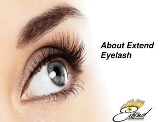 About Extend Eyelash