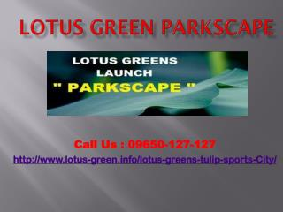 Lotus Green Parkscape Flats Apartments