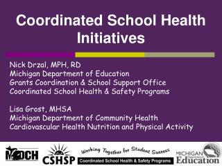 Coordinated School Health Initiatives