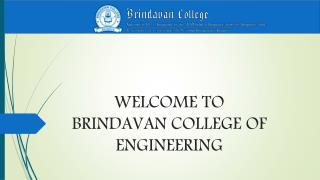 Post Graduation by Brindavan College