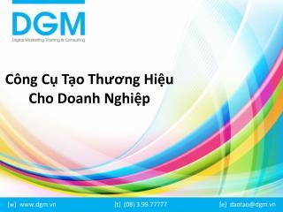 Cong cu tang thuong hieu online cho doanh nghiep