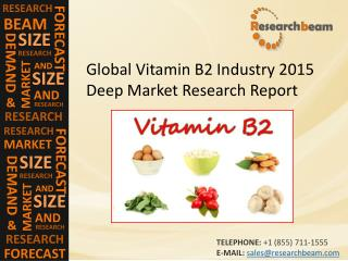 Global Vitamin B2 Industry Size, Share, Trends, Growth