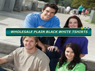 Why Are Plain Black And While T Shirts In Demand Among Youth