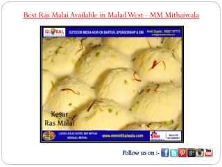 Best Ras Malai Available in Malad West - MM Mithaiwala