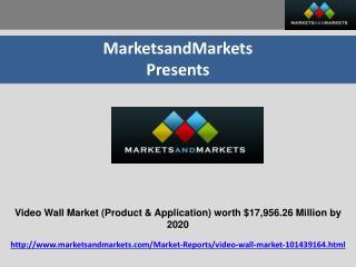 Video Wall Market