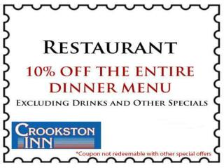 Crookston Inn, Hotel, Lodging and Wedding Venue, Motel Crook