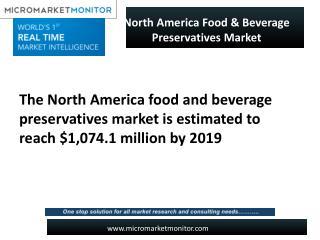 North America Food & Beverage Preservatives Market