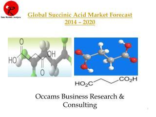Global Succinic Acid Market   Forecasts 2014-2020