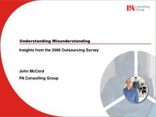 Understanding Misunderstanding