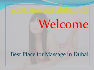 Dubai Massage