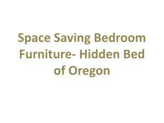 Space Saving Bedroom Futniture
