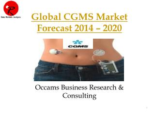 Continuous Glucose Monitoring System | Forecast 2014-2020