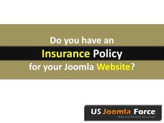 Insurance for Websites?
