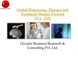 Global Depression Therapy Market | Forecast 2014-2020