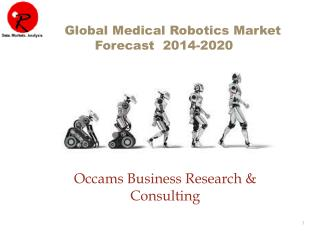 Medical Robotics Market by Application | Forecast 2014-2020