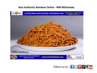 Best Authentic Namkeen Online - MM Mithaiwala