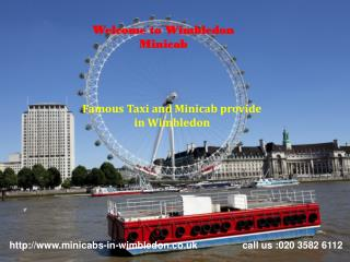 Taxi and Minicabs in Wimbledon