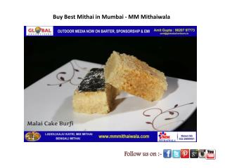 Buy Best Mithai in Mumbai - MM Mithaiwala