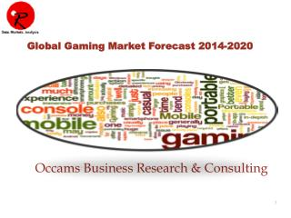 Global Gaming Market | Forecast 2015-2021