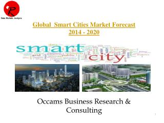 Smart Cities Market | Forecast 2014-2020