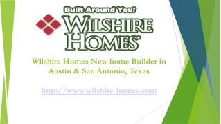 New Home Builders Austin, braunfels, cibolo, san antonio TX-