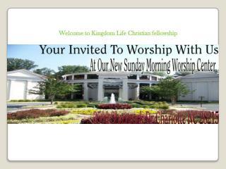 Dynamic Non Denominational Church Charlotte NC