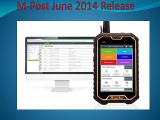 M-Post June 2014 Release