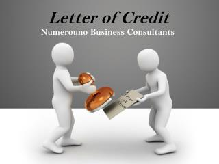 Letter of Credit by Numerouno Consultants