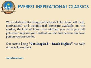 Best Books of Inspiration and Motivation by Everinc