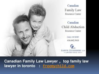 Canadian Family Law Lawyer , Top Family Law Lawyer in Toront