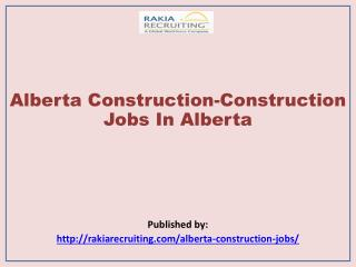 Alberta Construction-Construction Jobs In Alberta