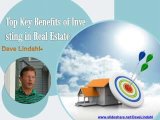 Top Key Benefits of Investing in Real Estate
