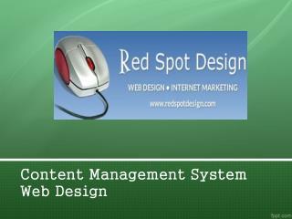 Content Management System Web Design
