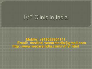 IVF Clinic in India
