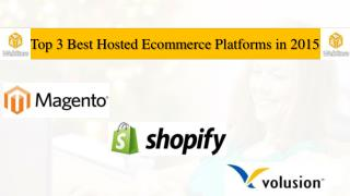 Best Ecommerce Platforms for online Business development in