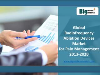 Global Radiofrequency Ablation Devices Market 2013-2020