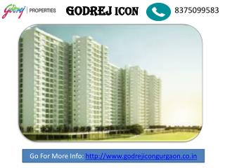 |Godrej Icon new Project | Call Now 8375099583