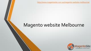 Magento website Melbourne | Magento Site