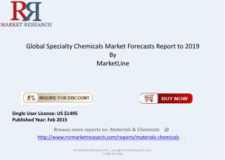 In-Depth Analysis of Specialty Chemicals Market 2014 - 2019
