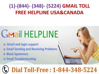 1-844- 348 -5224 Gmail Technical Support