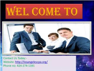 CPA Services in Burbank