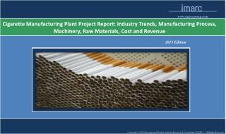 Cigarette Manufacturing Plant | Cost, Market Trends