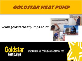 Gold Star Heat Pumps AC Installers in New Zealand