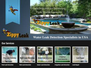 Pool Leak Detection Palm Springs CA | ZippyLeak