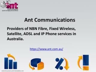 Cheap ADSL Broadband Deals Sydney   1300 268 266   Ant Commu