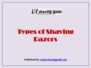 Shaving Guide-Shaver Buying Guide