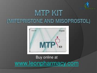 Mtp Kit - Perfect Abortion Pills for Women