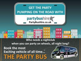 Party Bus Hire Infographic