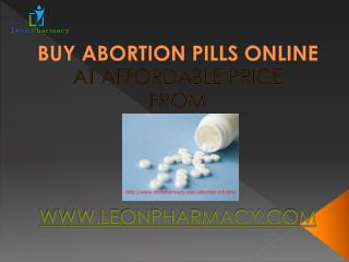 buy Perfect Abortion Pills for Women