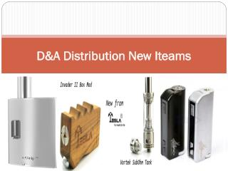 D&A Distribution New Iteams